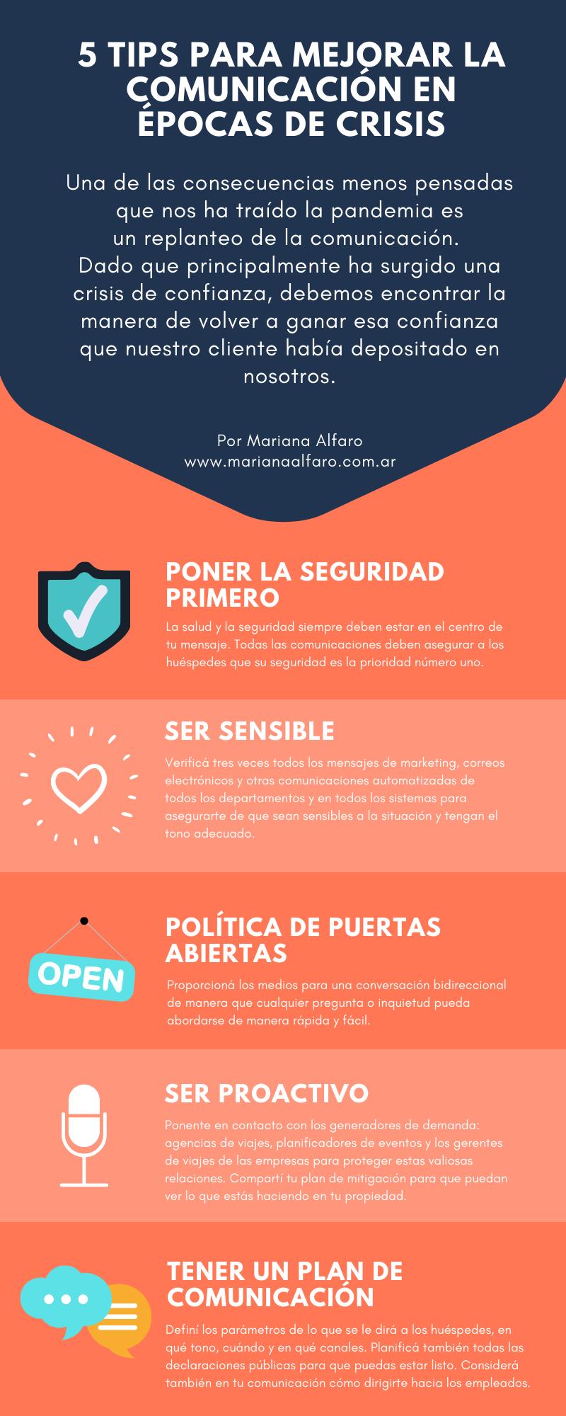 5 tips para mejorar la Comunicación en épocas de crisis